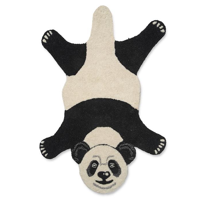 Dyreteppe Panda Svart/Hvit 60x90 cm