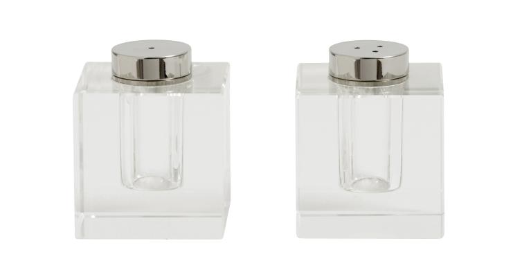Salt & Peppar Set Crystal
