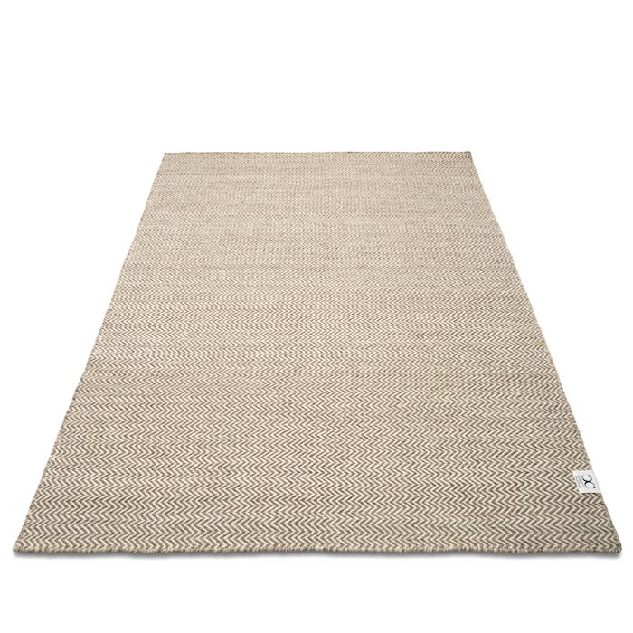 Herringbone Natur/Vit 200x300 cm
