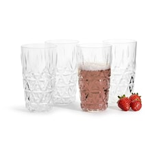 Picnic Glas Transparent 40 cl 4 stk.