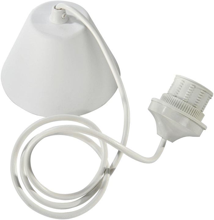 Tagophæng Lampeledning Hvid 120 cm