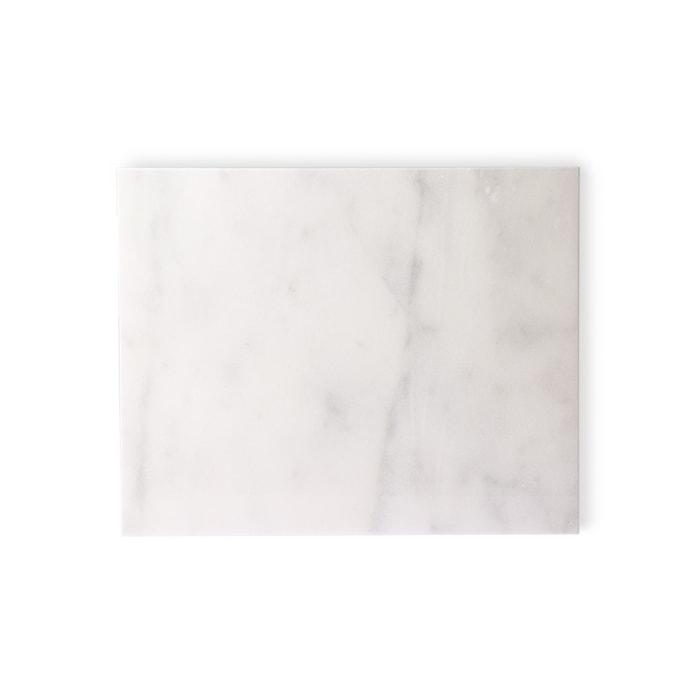 Marmor Skärbräda White polished