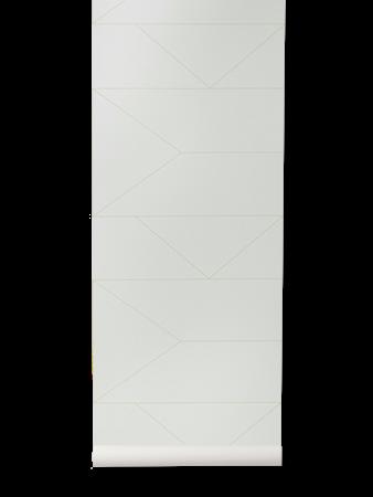 Lines Tapet Off White