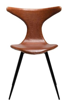 Stol Dolphin Konstläder - Vintage Ljusbrun