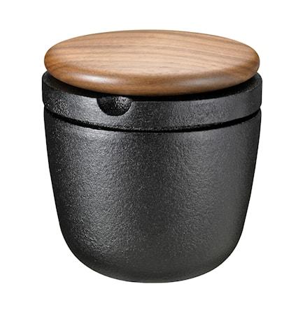 Swing' Peppar/Kryddkvarn med lock i Valnöt