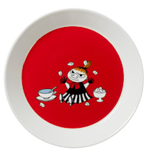 Moomin Plate 19 cm Little My Red