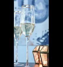Castle champagneglas – Set om 12 st