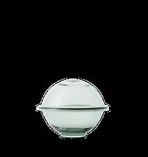 Chapeau Bonbonkrukke Pustet Glas Copenhagen Green Ø16 cm