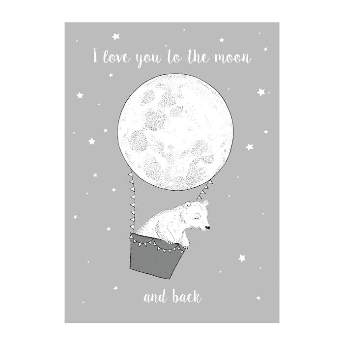 Poster Måne
