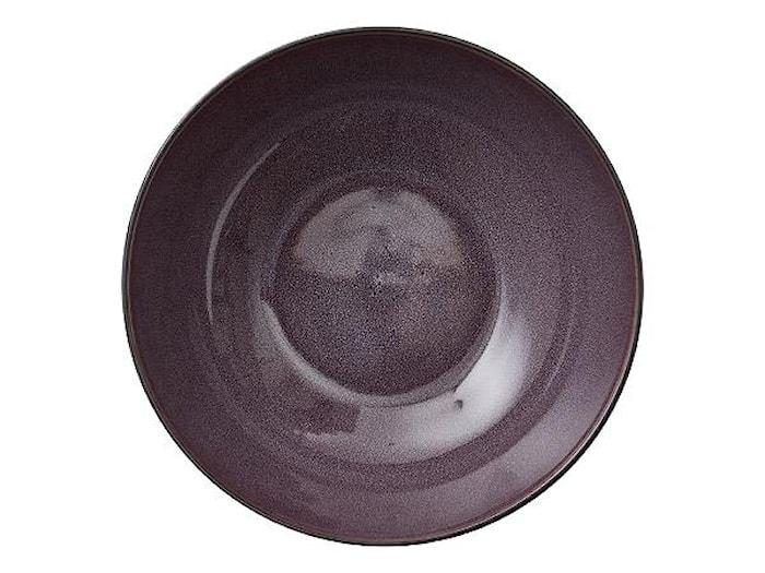 Skål Ø 30 cm sort/lilla Bitz