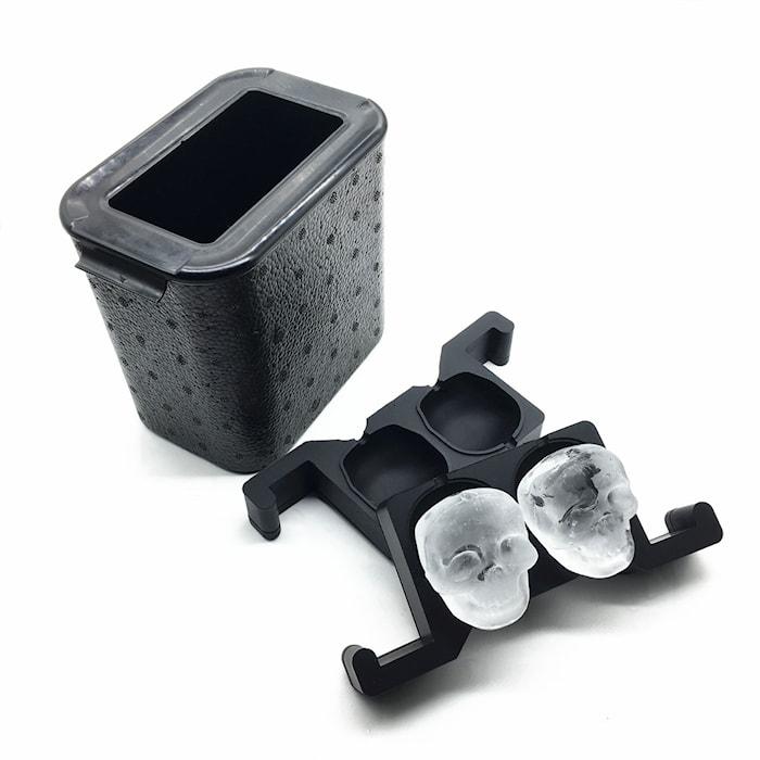 Form för kristallklar is - Dödskallar