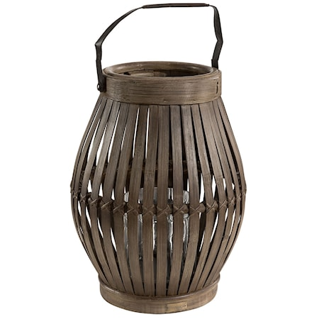 Birdcage lykta - Bamboo vintage