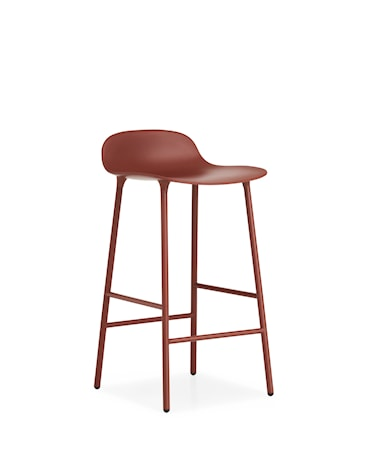 Form Barstol Röd 65 cm
