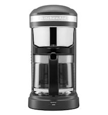 Drip kaffebryggare Matt grå 12 koppar