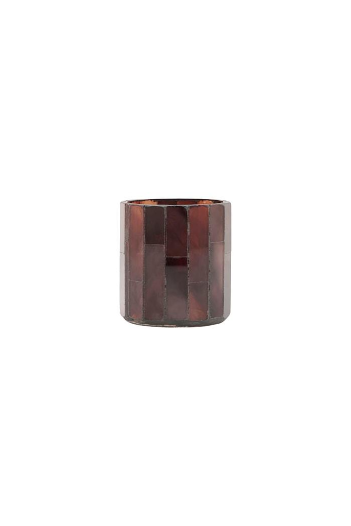 Värmeljusstake Amroha Brun 8 cm