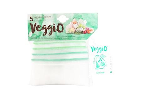 Veggio Återanvändningsbara Fruktpåsar 5-Pack