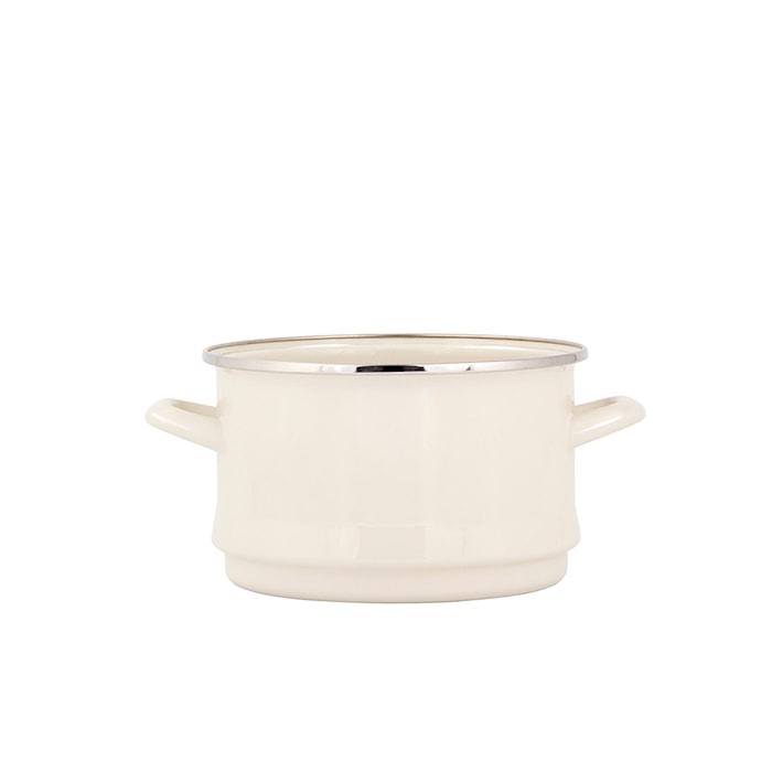 Durkslag 18 cm Cream Lux