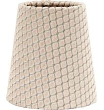 Queen Lampskärm Ruta Beige 10cm