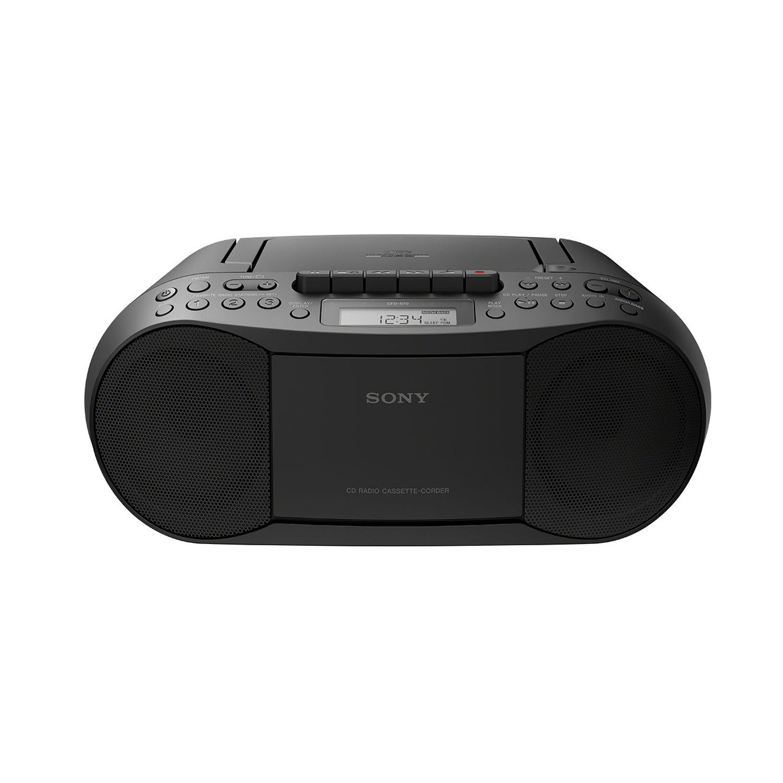 Boombox CD/Kassett/Radio Svart