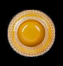 DAISY Syvä lautanen Keltainen 21 cm