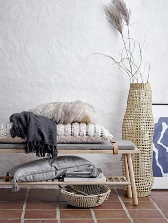 Kudde Blå Bomull 40x90 cm