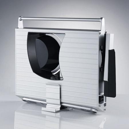UNA 9 Twin Skæremaskine med Tandet + Flad Klinge