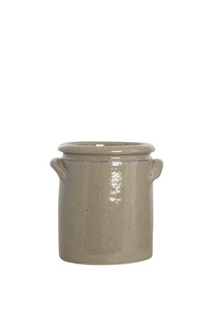 Blumentopf Keramik 15cm Sand