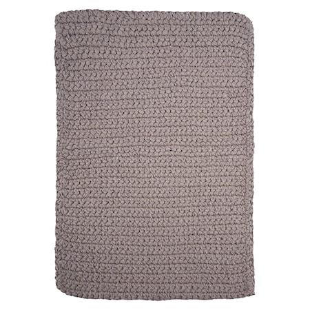 Crochet Matta Grå 90 cm