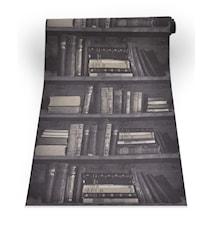 Bookshelf dark tapet