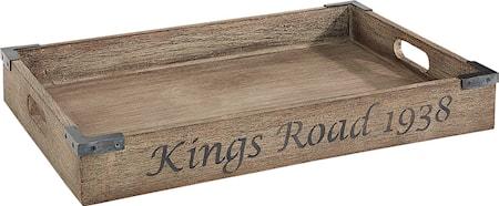 Kings Road Bricka Vintage Java Oak