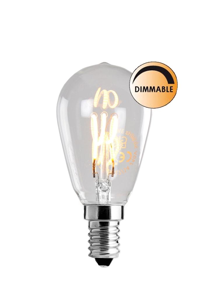 Pære LED Soft Filament Dæmpbar Klar Uniterm E14