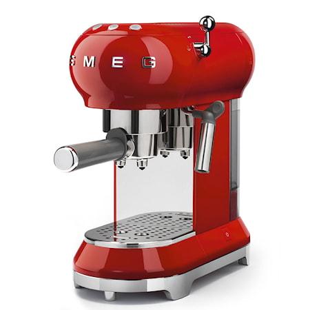 Espressomaskin Röd