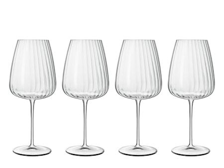 Rödvinsglas Bordeaux Optica 70 cl 4 st