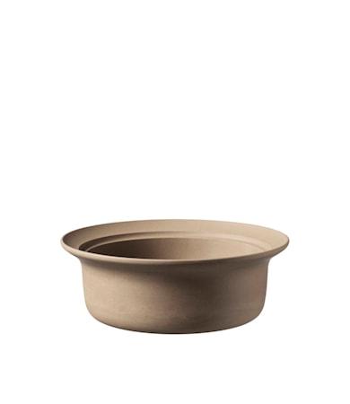 V20 Ildpot Keramikskål (L) Brun