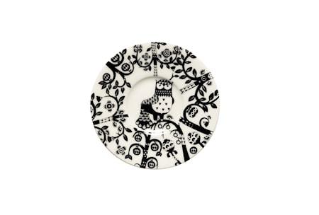 Taika Espressountertasse 11 cm Schwarz