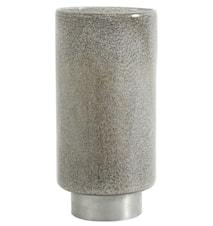 Ljusstake/Vas i Glas & Metall Grå 31cm