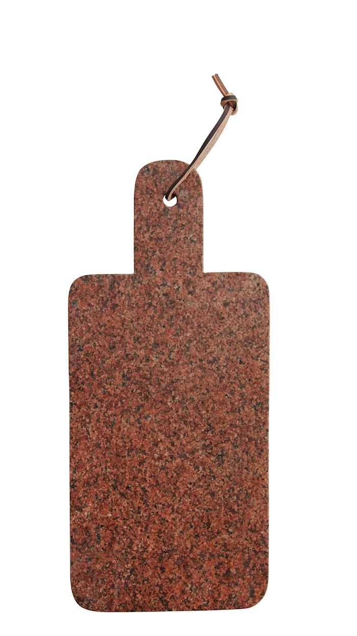 Skärbräda 17,5x40 cm Röd