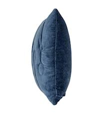Pyntekudde Ringe 60x40 cm - Blå