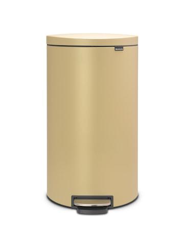 Soptunna med Pedal & Plasterinnerhink Guld 30 L