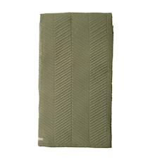 Sengeteppe Stripe - Grønn