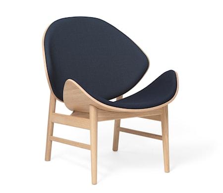 The Orange Lounge Chair Navy blue Vitoljad Ek