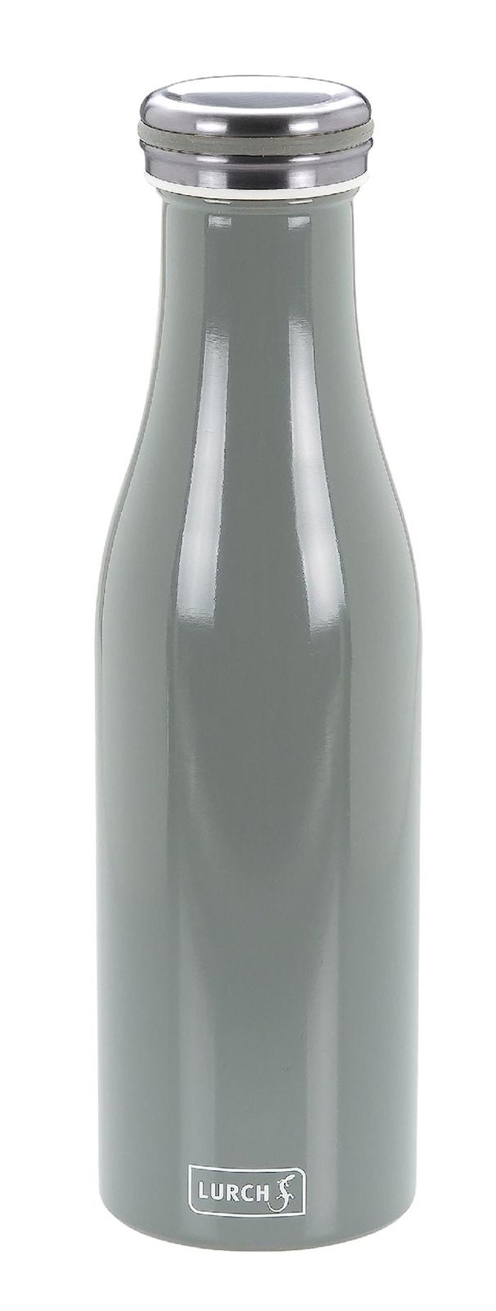 Termoflaske, Rustfri stål, 0,5L, Grå