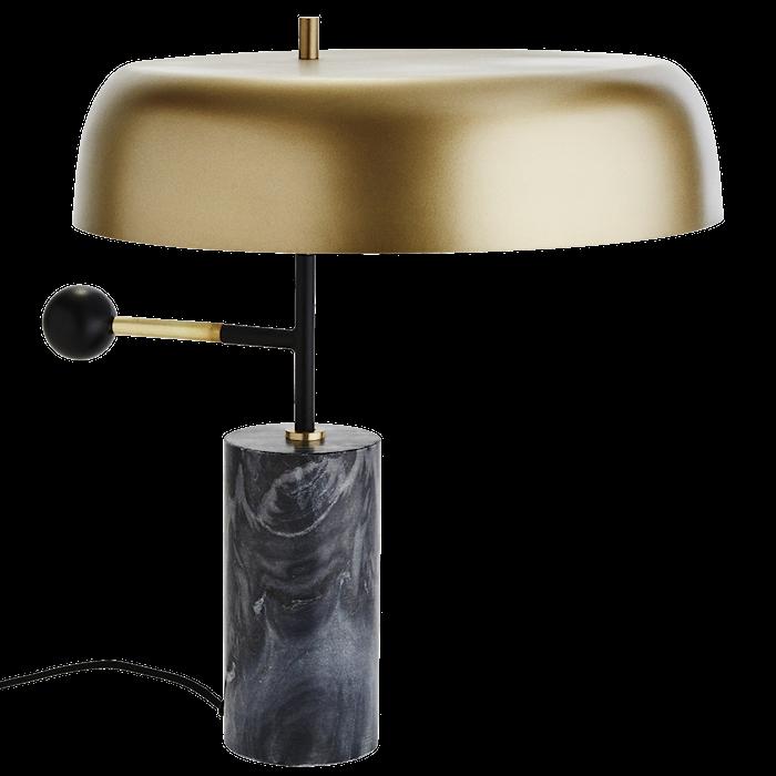 Pöytälamppu Ø 40 cm - Matto messinki