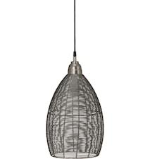 Cartago Taklampe Sølv 24 cm