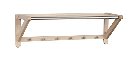 Methro Hattehylde 80 Hvidpigmenteret Eg/Metal