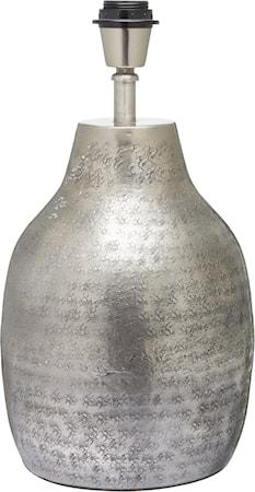 Humphrey Lampefot Sølv 40cm