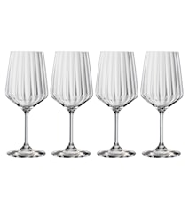 LifeStyle Rödvinsglas 63 cl 4-pack