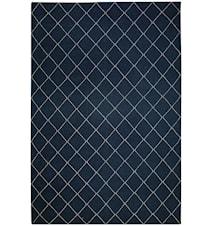 Diamond Dhurry Matta Ull Blå/Off White 230x336 cm