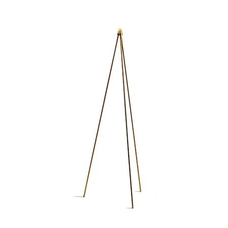 Oslo wood gold Lampfot