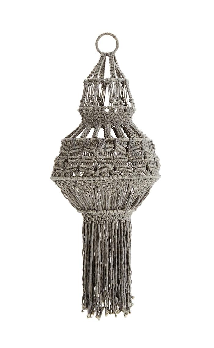 Lampskärm Ø 38cm Grå
